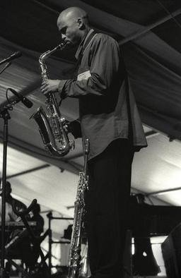 Ellen Rosenberg: 'Jazz Fest 2004', 2005 Silver Gelatin Photograph, Music. Artist Description: