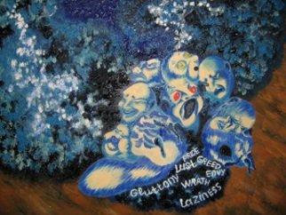 Artist: Alexander Robertson - Title: ETERNAL BEAST - Medium: Oil Painting - Year: 2013
