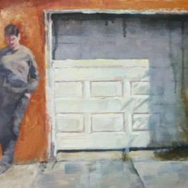 Gregory Elsten: 'might minch', 2011 Oil Painting, Figurative. Artist Description:       figurative      ...