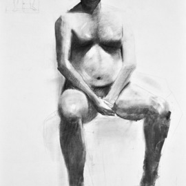 seated man By Gregory Elsten