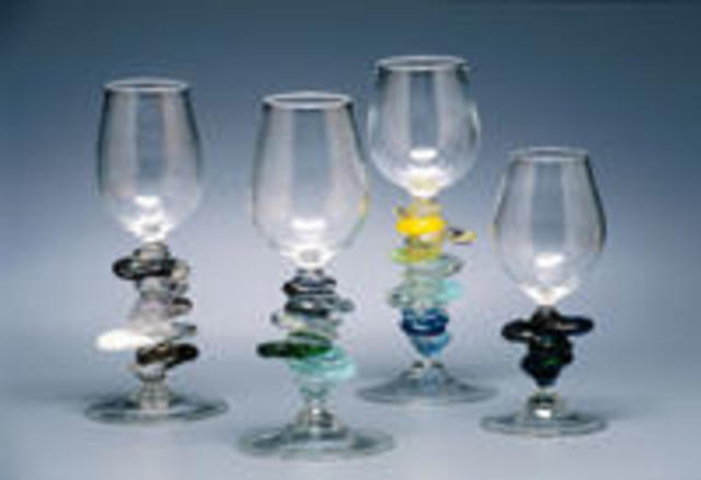 Eric Mead  'Cairn Goblets', created in 2003, Original Computer Animation.
