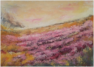 Emilia Milcheva Artwork BLOOMING TALE, 2016 Acrylic Painting, Landscape