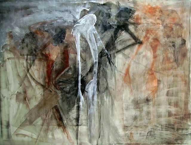 Emilio Merlina  'Abandoning The Combat', created in 2007, Original Optic.