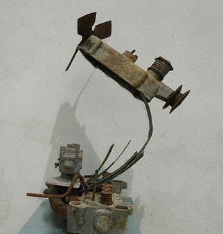 Emilio Merlina: 'all i need is fly', 2018 Mixed Media Sculpture, Fantasy.