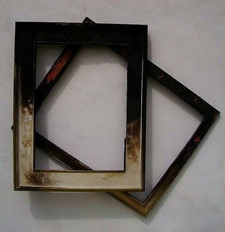 Emilio Merlina: 'are you sure you need a frame', 2007 Indoor Installation, Inspirational.