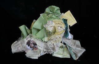Emilio Merlina: 'bad cheque', 2012 Mixed Media Sculpture, Fantasy.