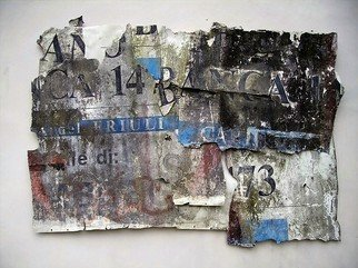 Collage by Emilio Merlina titled: bank loan, 2007