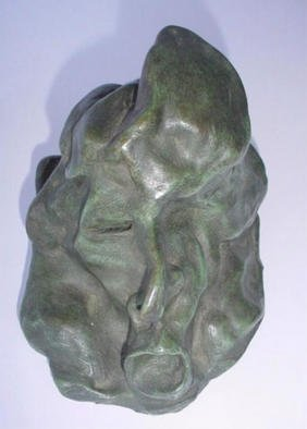 Bronze Sculpture by Emilio Merlina titled: breath, created in 1997