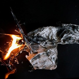 Emilio Merlina: 'burning my time 09', 2009 Color Photograph, Inspirational. Artist Description:  digital photo ...