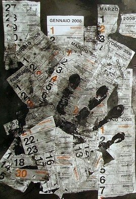 Collage by Emilio Merlina titled: choose your date, 2007