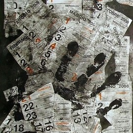 Emilio Merlina Artwork choose your date, 2007 Collage, Inspirational