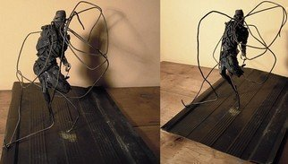 Emilio Merlina: 'electric chair', 2012 Mixed Media Sculpture, Fantasy.