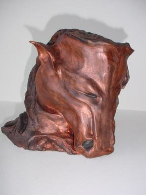 Emilio Merlina: 'fauvorite piece', 1992 Ceramic Sculpture, Inspirational. Artist Description: sculpture terracotta...