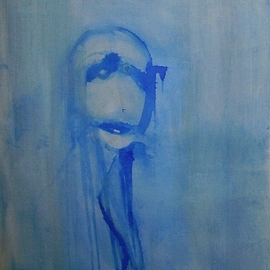 Emilio Merlina Artwork few minutes of blue 08, 2008 Other Drawing, Inspirational