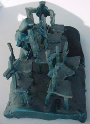 Emilio Merlina: 'forgetful sleep', 1997 Ceramic Sculpture, Inspirational. Artist Description: sculpture terracotta...
