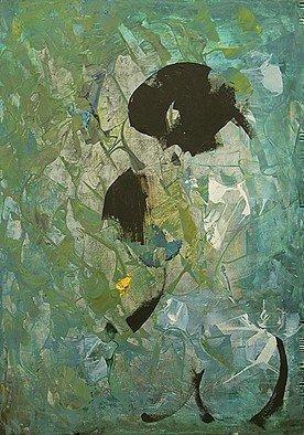 Acrylic Painting by Emilio Merlina titled: imperfect traces of flashback, 2014