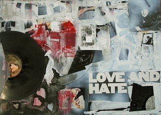 Emilio Merlina: 'love and hate', 2018 Mixed Media, Fantasy. Artist Description: evolution of existing work...
