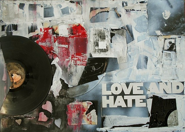 Emilio Merlina  'Love And Hate', created in 2018, Original Optic.