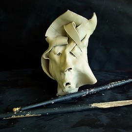 Emilio Merlina: 'mister tambourine man', 2009 Mixed Media Sculpture, Inspirational.