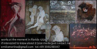 Emilio Merlina: 'my works in Florida USA ', 2014 Other, Fantasy.   on canvas  ...