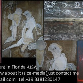 Emilio Merlina Artwork my works in Florida USA , 2014 Other, Fantasy