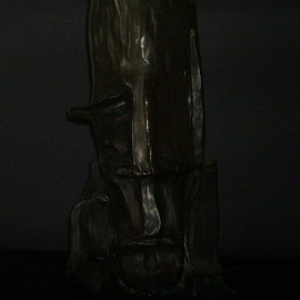 Emilio Merlina: 'observer', 1993 Bronze Sculpture, Inspirational. Artist Description:  bronze ...