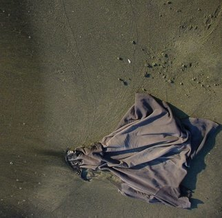 Color Photograph by Emilio Merlina titled: on the black beach, created in 2008