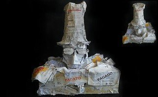 Emilio Merlina: 'paid', 2012 Mixed Media Sculpture, Fantasy.