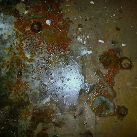 Emilio Merlina: 'rusty universe', 2007 Color Photograph, Inspirational.
