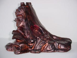 Emilio Merlina: 'sovereign', 1994 Ceramic Sculpture, Inspirational. Artist Description: sculpture terracotta...