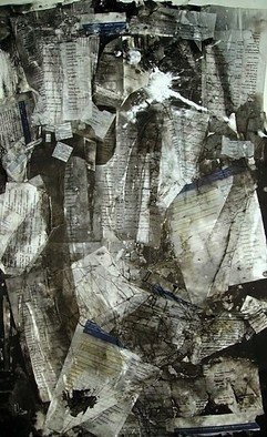 Collage by Emilio Merlina titled: statistics, created in 2008