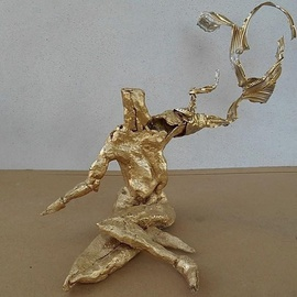 Emilio Merlina: 'the dreams thrower', 2014 Mixed Media Sculpture, Fantasy.