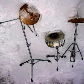 Emilio Merlina: 'the drummer is gone 3  09', 2009 Color Photograph, Inspirational. Artist Description:  digital photo ...
