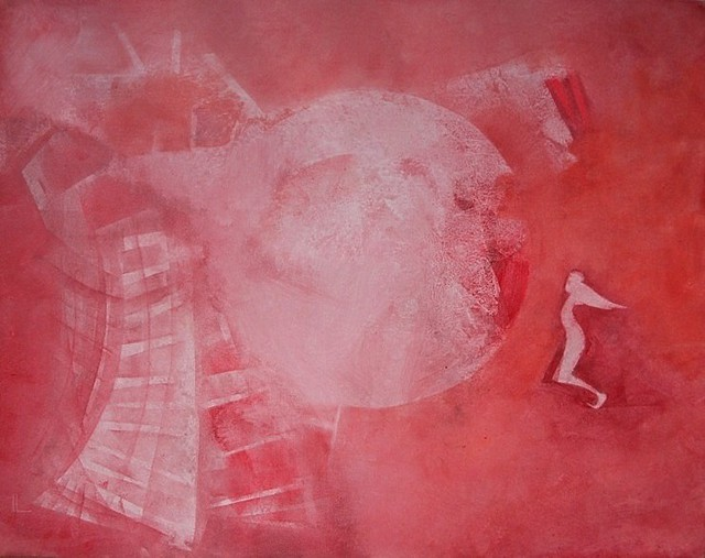Emilio Merlina  'The Red Moon Restorer', created in 2011, Original Optic.