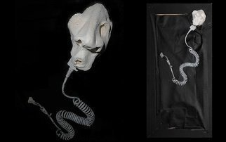 Emilio Merlina: 'the snake', 2014 Mixed Media Sculpture, Fantasy.