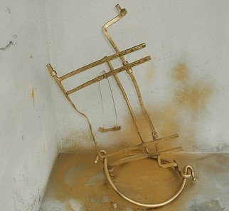 Emilio Merlina: 'the swing', 2015 Mixed Media Sculpture, Fantasy.