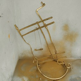 Emilio Merlina Artwork the swing, 2015 Mixed Media Sculpture, Fantasy