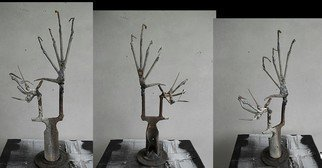 Emilio Merlina Artwork the tree of knowledge, 2012 Steel Sculpture, Fantasy