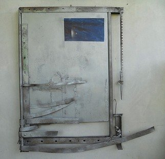 Emilio Merlina: 'the window ', 2012 Mixed Media Sculpture, Fantasy.