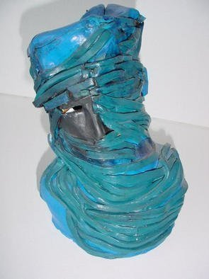 Emilio Merlina: 'tuareg', 1986 Ceramic Sculpture, Inspirational. Artist Description: sculpture terracotta...