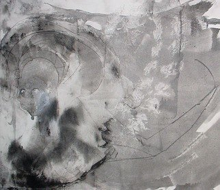 Emilio Merlina: 'two in one 09', 2009 Mixed Media, Inspirational.  acrylic and charcoal on canvas ...