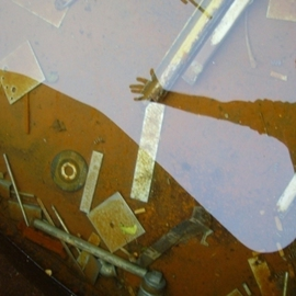 Emilio Merlina: 'welcome into my rusty sea 2', 2008 Color Photograph, Inspirational. Artist Description:  digital photo ...