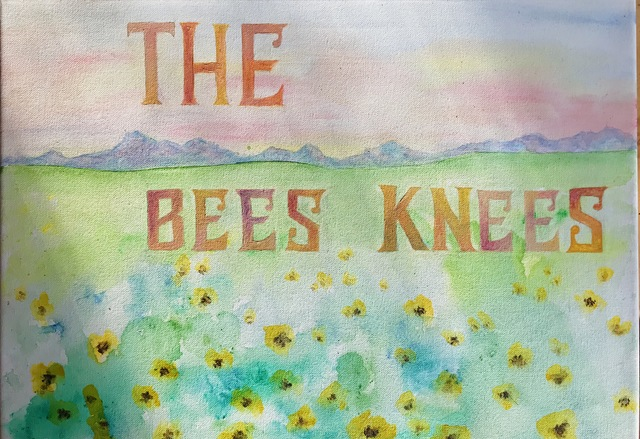 Emily Grun  'The Bees Knees', created in 2019, Original Painting Acrylic.
