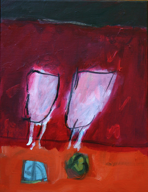Engelina Zandstra Artwork Allegro, 2007 Acrylic Painting, Still Life