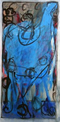 Artist: Engelina Zandstra - Title: Allegro 8 - Medium: Acrylic Painting - Year: 2010