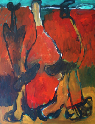Engelina Zandstra Artwork Composition 195, 2003 Composition 195, Abstract Figurative