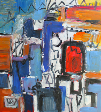 Engelina Zandstra Artwork Composition 4111, 2015 Composition 4111, Abstract Figurative