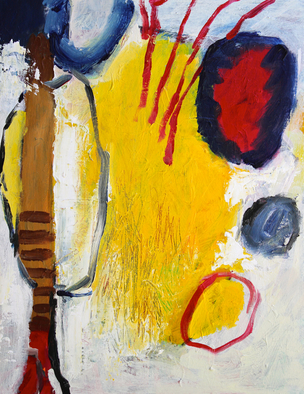 Engelina Zandstra Artwork Composition 4144, 2015 Composition 4144, Abstract Figurative