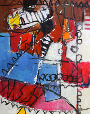 Engelina Zandstra Artwork Composition 4147, 2015 Composition 4147, Abstract Figurative
