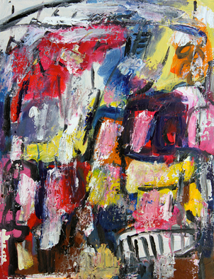 Engelina Zandstra Artwork Composition 4150, 2015 Composition 4150, Abstract Figurative